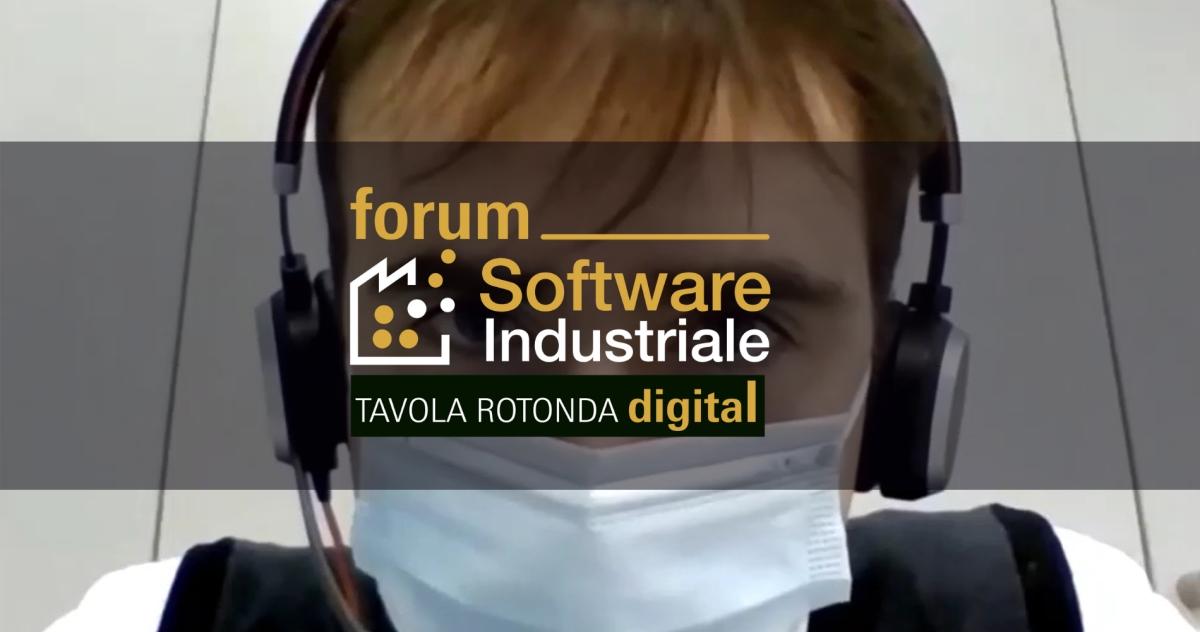 Tavola Rotonda Forum Software Industriale - Digitalizzazione dei prodotti e delle macchine