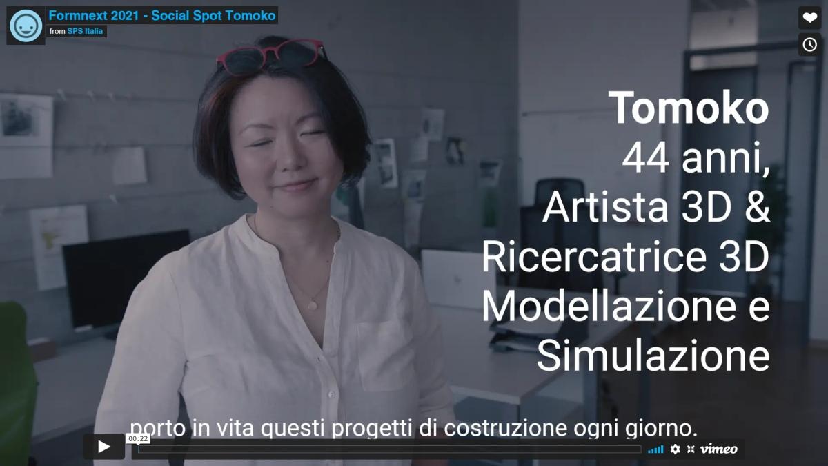 Formnext 2021 - Social Spot Tomoko
