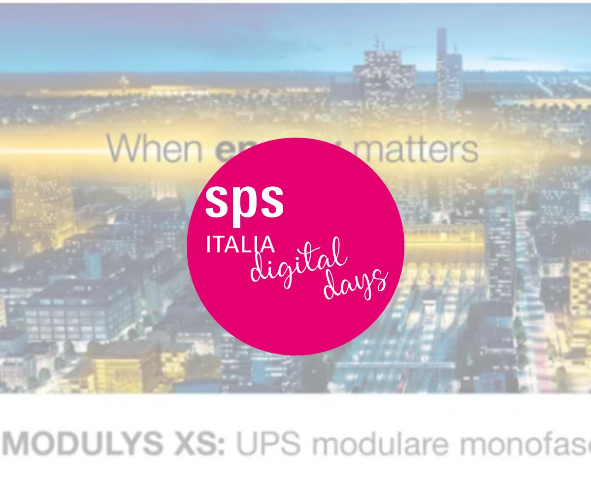 MODULYS XS: UPS modulari di ultima generazione