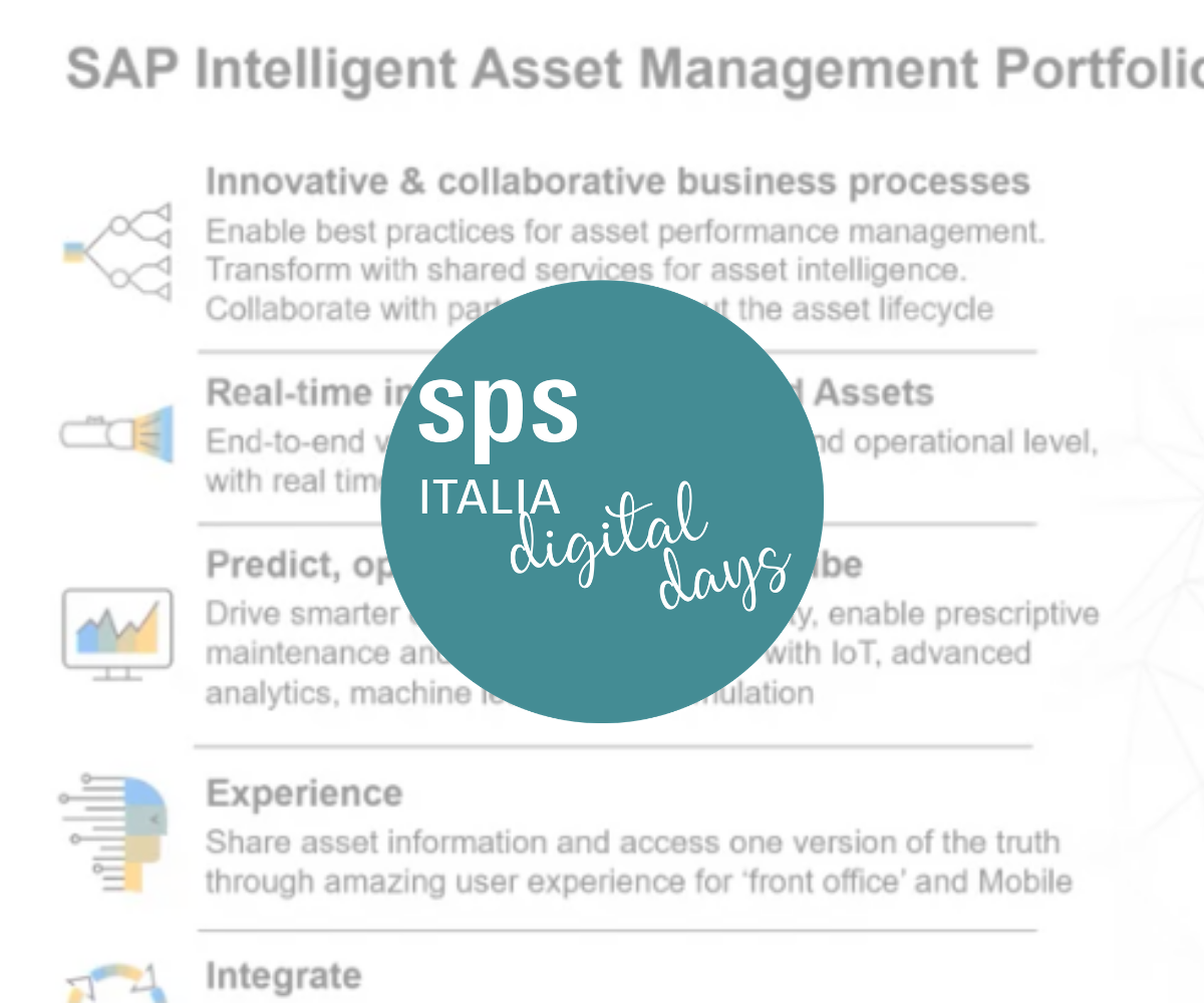 SAP Intelligent Asset Management