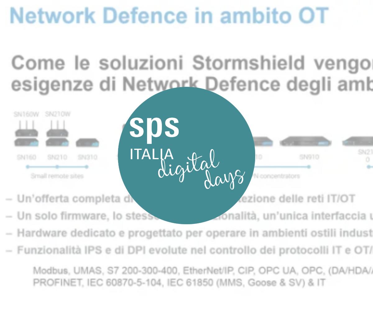 Network Defense in ambito OT - Soluzioni Stormshield per il mondo OT/Industrial
