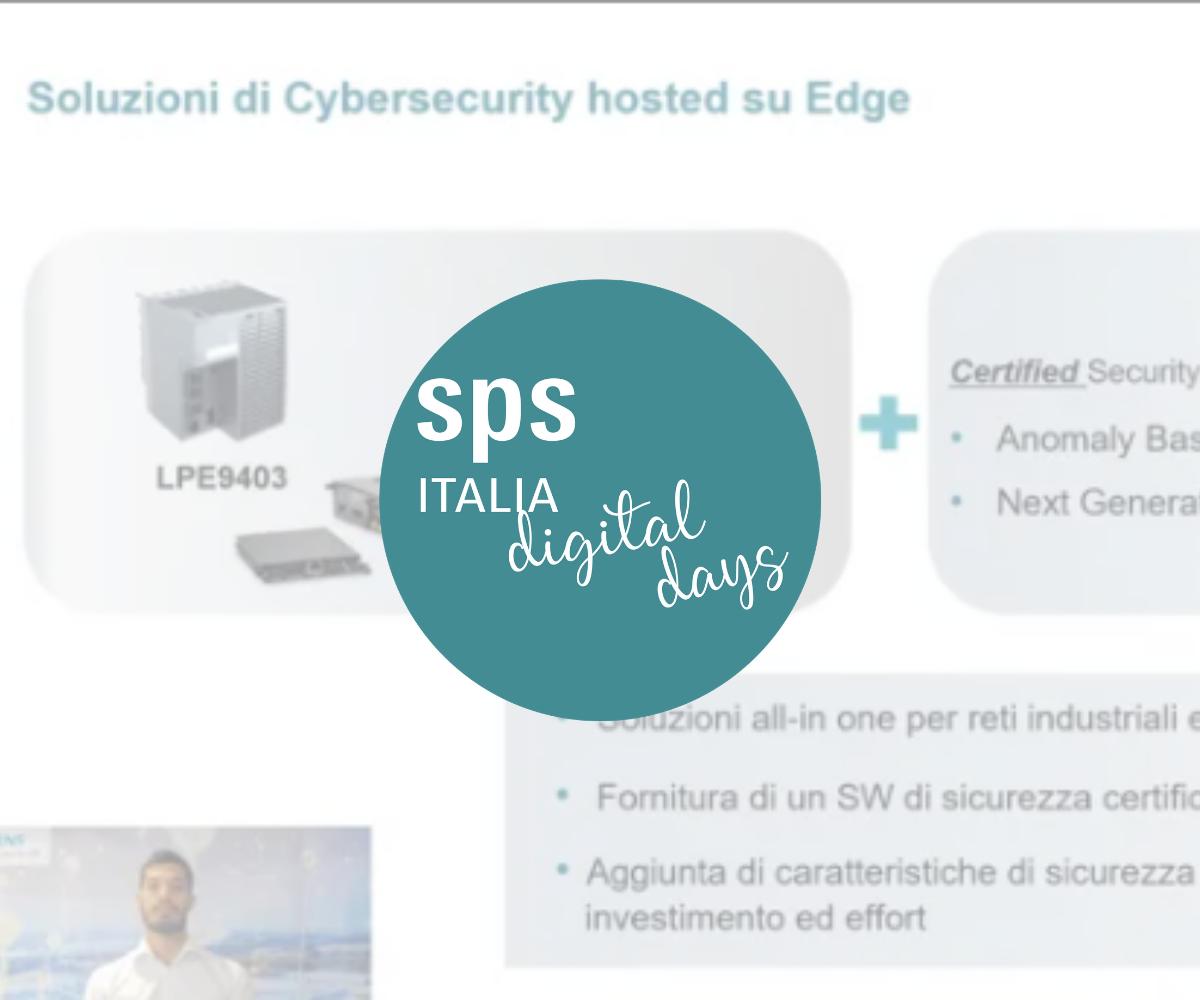 Siemens Industrial Edge – dall'analisi alla sicurezza del dato