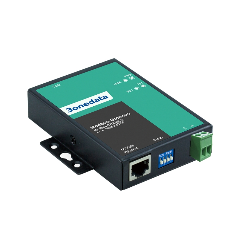 1-port RS-232/485/422 to Ethernet Modbus Gateway