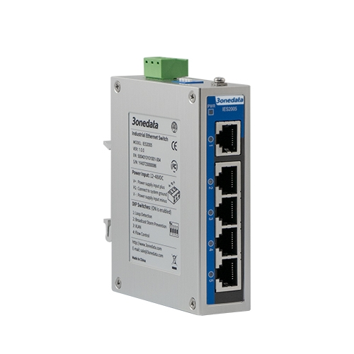5-port 100M Light-managed Industrial Ethernet Switch