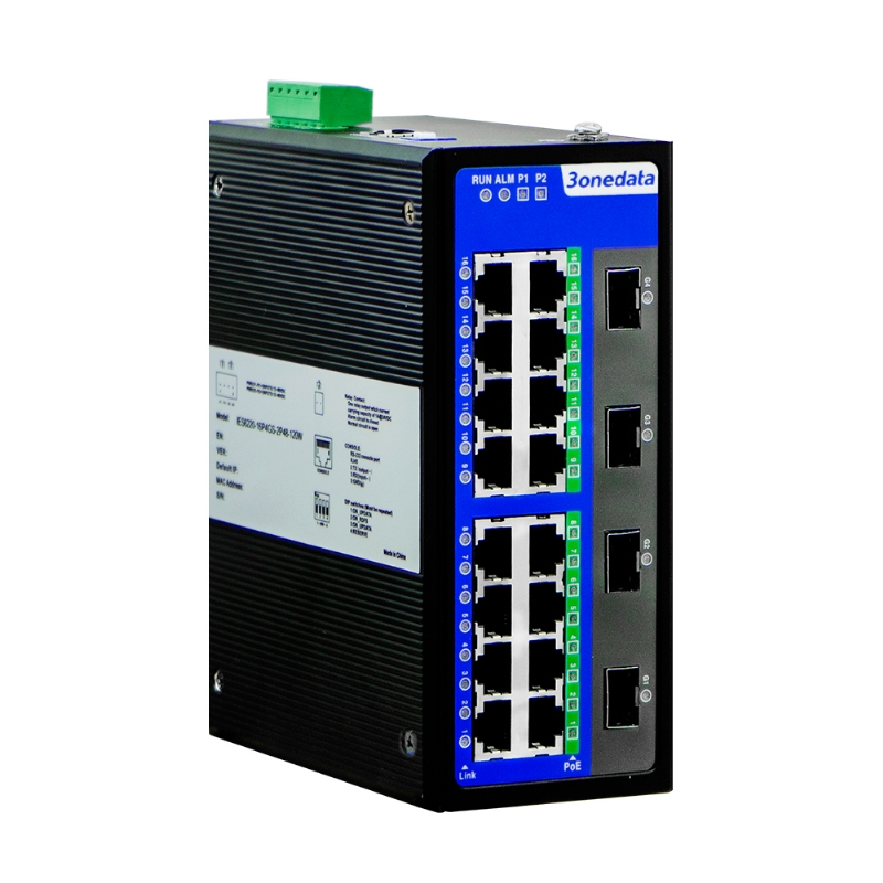 100M/Gigabit Industrial PoE Switch