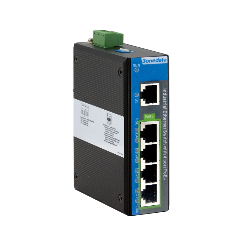 Full Gigabit Industrial PoE Switch