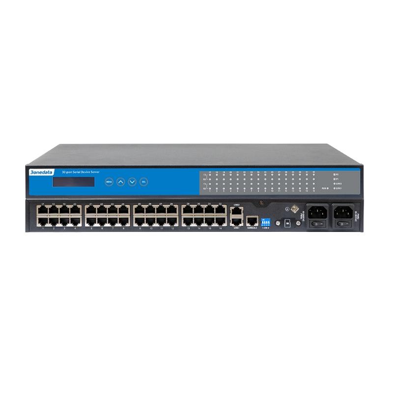 16/32 RS-232/485/422 3IN1 Safe Serial Server