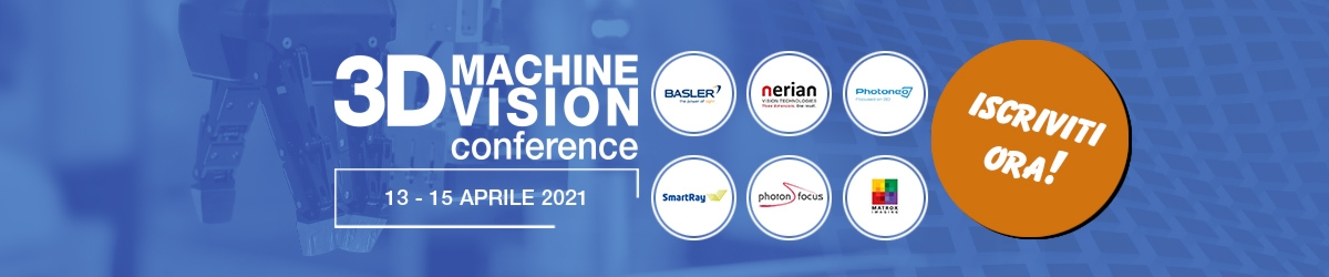 3D MACHINE VISION CONFERENCE