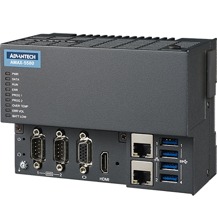 AMAX-5000 EtherCAT Slice I/O e Controller