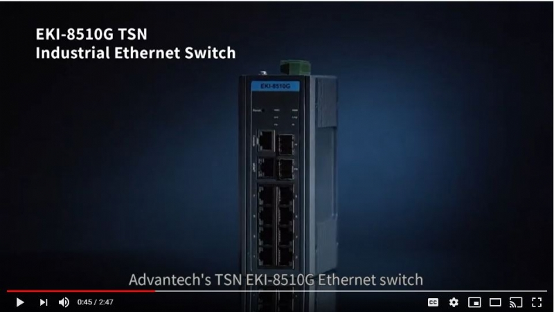 Time-Sensitive Networking (TSN) Switch for Deterministic Communication