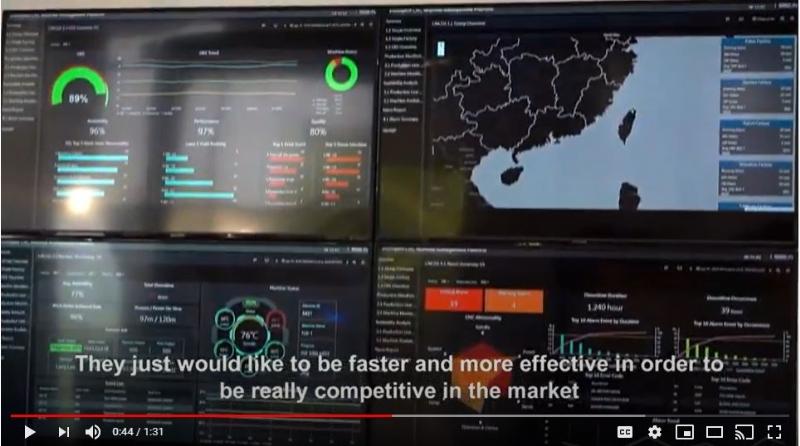 Control room scenario powered by UNO-2484G