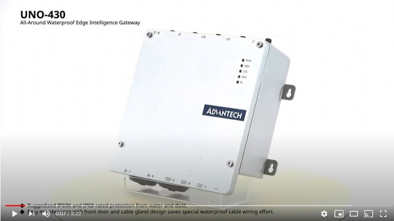All-Around Waterproof Edge Intelligence Gateway-UNO-430