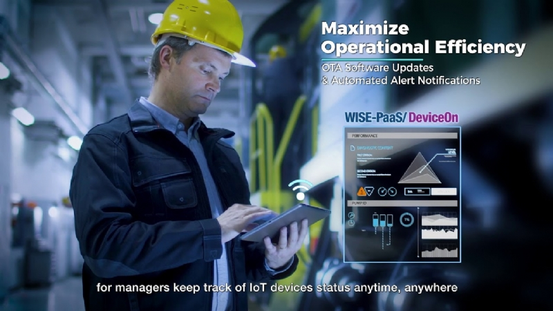 WISE-DeviceOn, power up IoT devices with 24/7 operation management