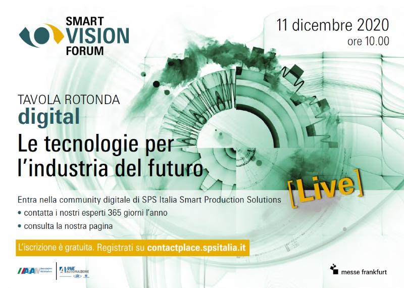 Smart Vision - Tecnologie per l'industria del futuro