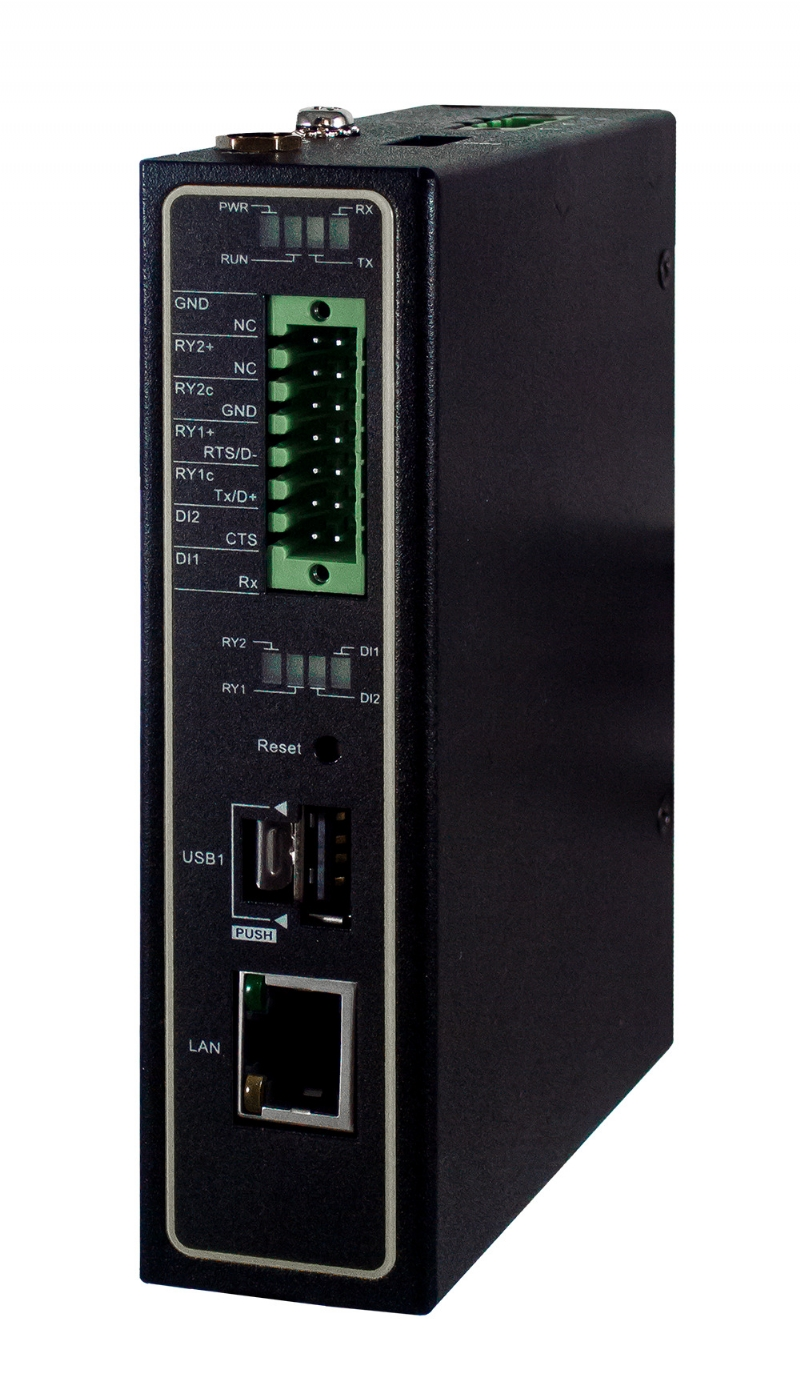Il Gateway per una comunicazione seriale wireless sicura per applicazioni IoT.