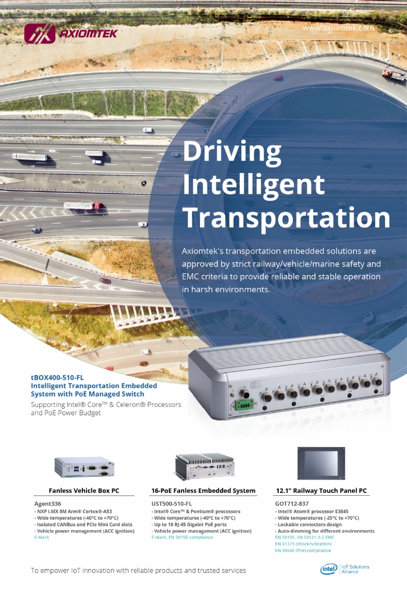 Datasheet Driver Intelligent Transportation (TBOX400, Agent336, UST500 & GOT712)