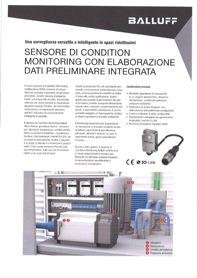 BCM - Sensore per Condition Monitoring