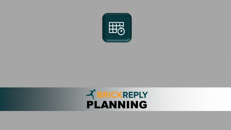 BRICK REPLY - PLANNING