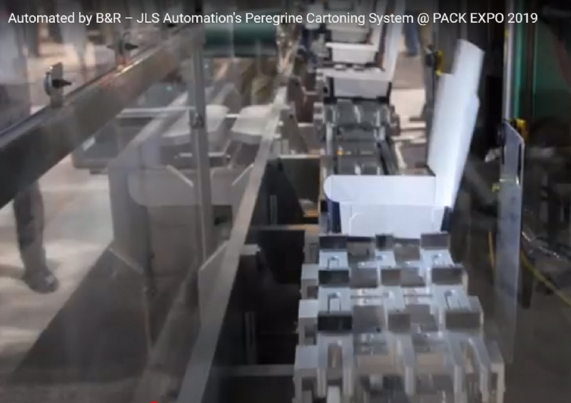 Automated by B&R – JLS Automation's Peregrine Cartoning System