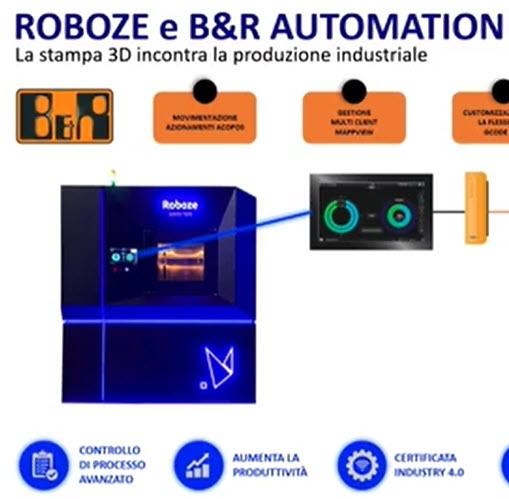 Roboze - Ottimizzazione dei processi con i sistemi di manifattura additiva