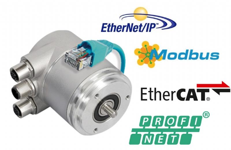 Encoder assoluti su base Ethernet