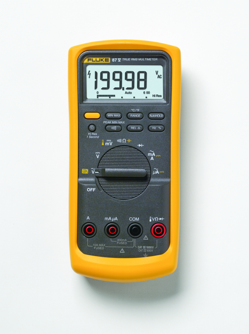 Fluke 87V True-RMS Industrial Multimeter