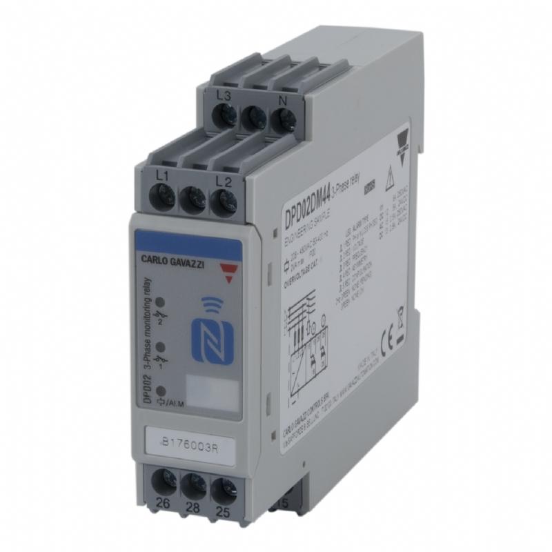 07. DPD02 - Relè di monitoraggio tensione frequenza trifase programmabile