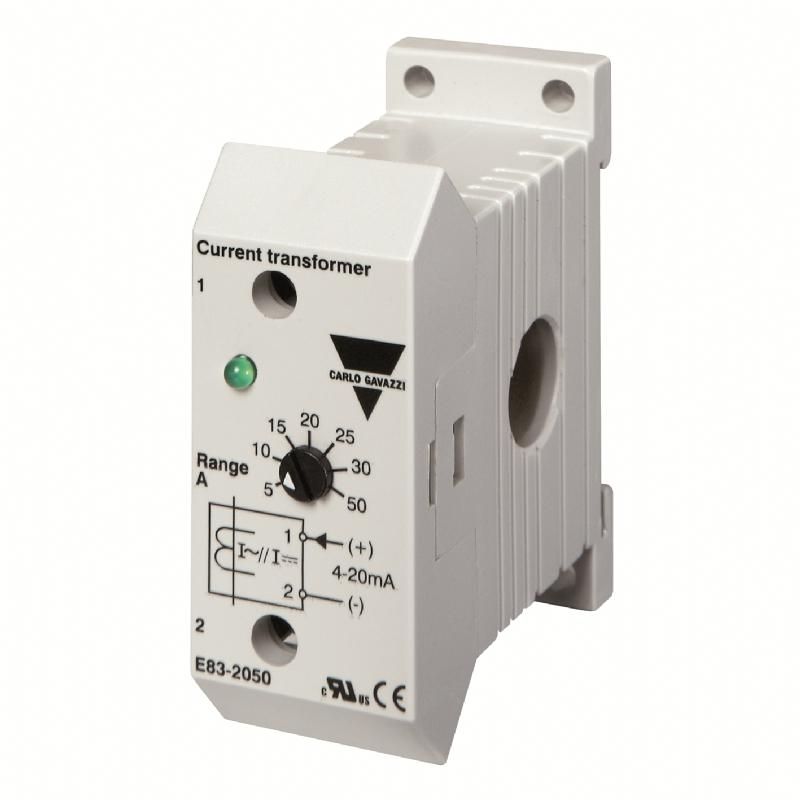 03. E83 - Sensore di corrente da guida DIN programmabile