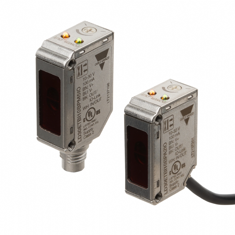 03. LD30 - Sensori laser fotoelettrici