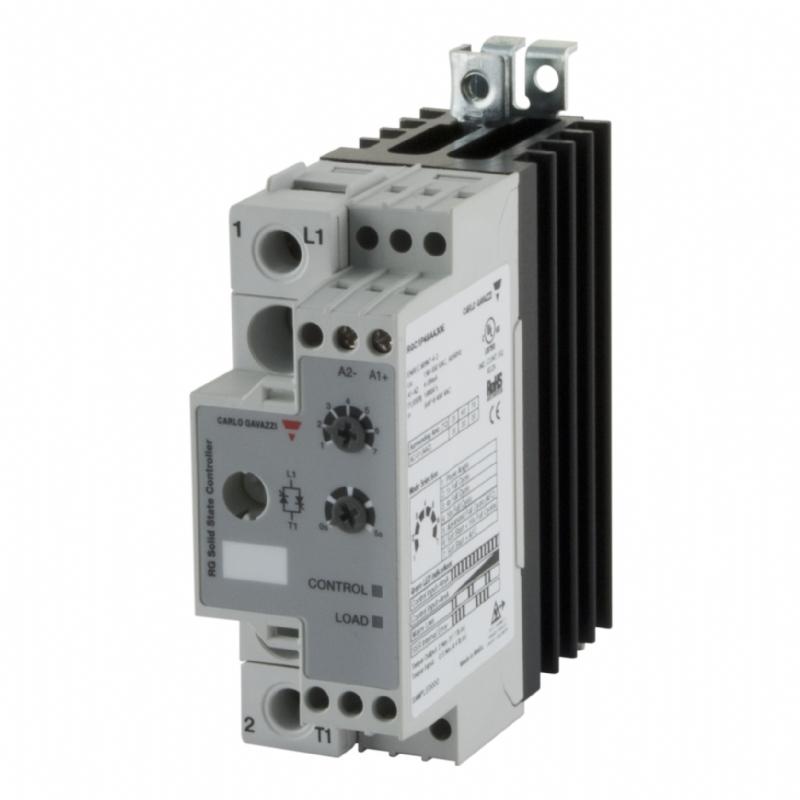 04. RGC1P - Contattore statico monofase con comando analogico
