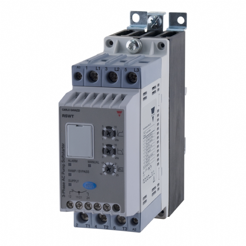 04. RSWT - Soft start trifase per pompe e ventilatori
