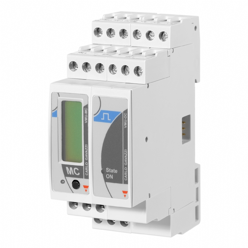 07. VMU_MC + VMU_OC - concentratore per conteggi da uscite impulsive. Gestione energetica