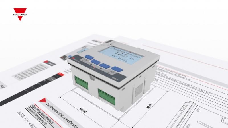 WM1596 - Analizzatore di rete e contatore di energia certificato MID