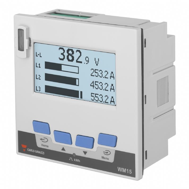 07. WM1596 - Analizzatore di rete e contatore di energia certificato MID