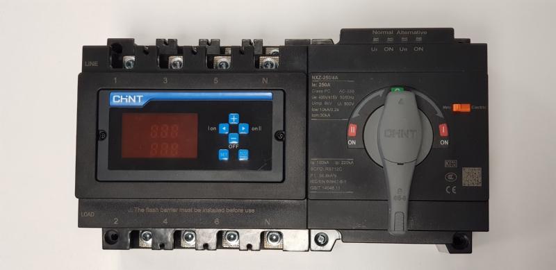 Commutatori motorizzati ATS serie NXZ