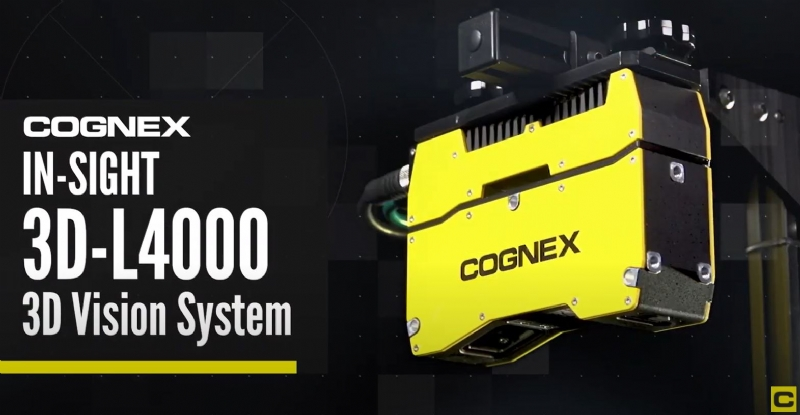 In-Sight 3D-L4000 3D Vision System