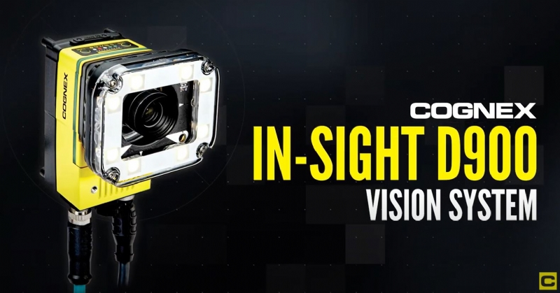 In-Sight D900 Deep Learning Vision System