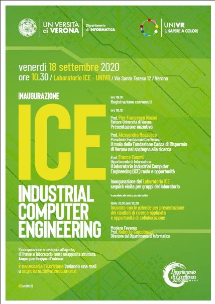 Inaugurazione Laboratorio ICE per Informatica 4.0