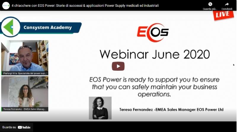 4 chiacchere con EOS Power: Storie di successi & applicazioni Power Supply medicali ed industriali