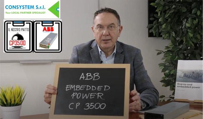 CP3500 Alimentatore AC/DC della serie CP (ABB Power) Alta densità di potenza in dimensioni ridotte