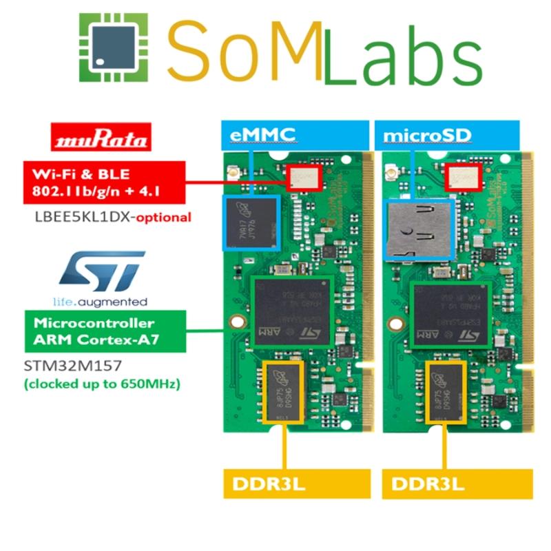 Scheda Tecnica famiglia VisionSOM-STM32MP1