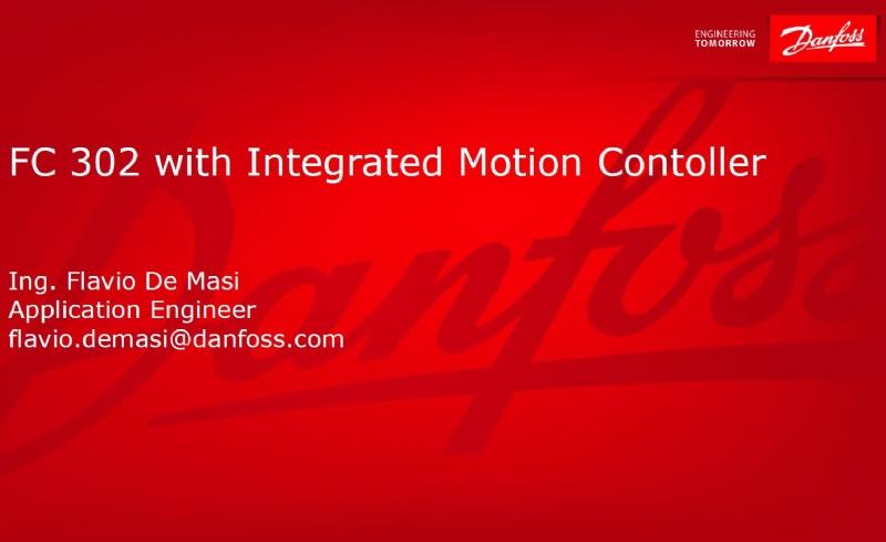 VLT AutomationDrive FC 302 con funzionalità Integrated Motion Controller (IMC)