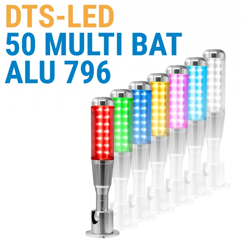 DTS-LED 50 MULTI BAT ALU serie