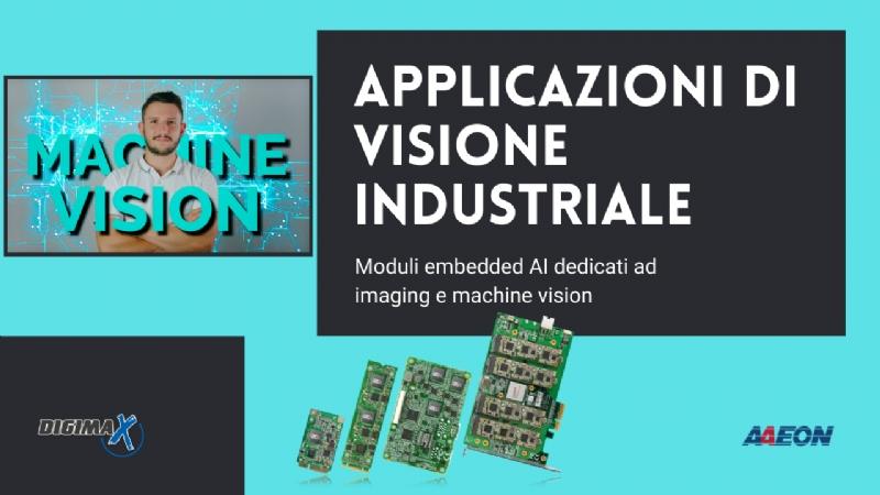 Moduli embedded AI dedicati al settore Machine Vision