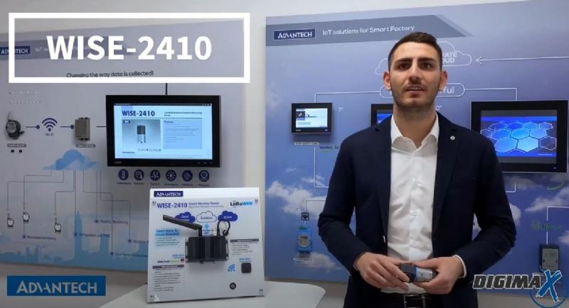 WISE 4210: sensore wireless per IIoT con tecnologia LPWAN Sub-GHz