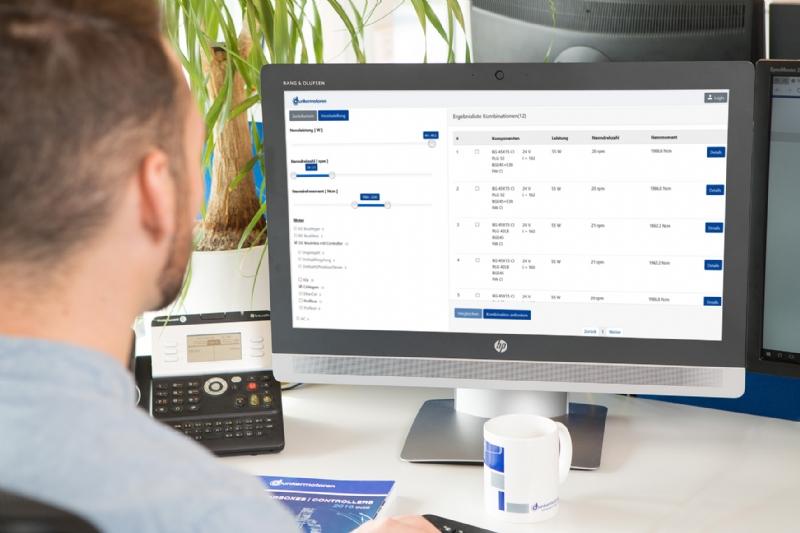 Dunkermotoren Online Configurator Tutorial