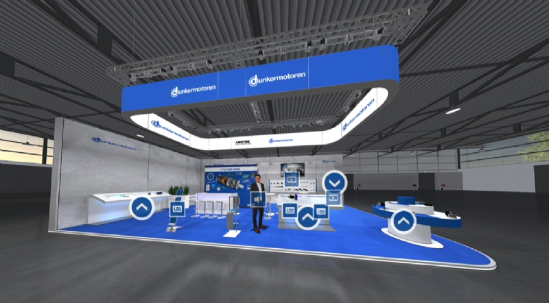 Visit our virtual trade show booth - Dunkermotoren