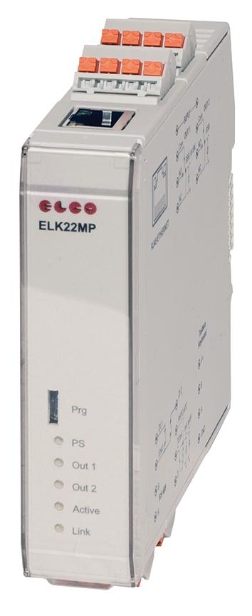 TERMOREGOLATORE MODULARE ELK22MP