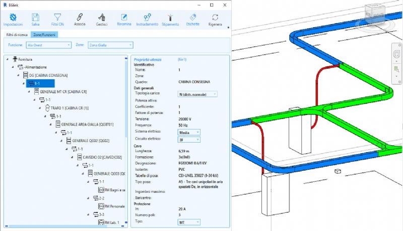 EGlink: interoperabilità Ampère Pro e Autodesk Revit