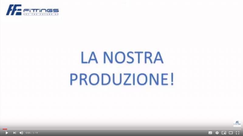 Produzione: la creazione dei prodotti Fittings!